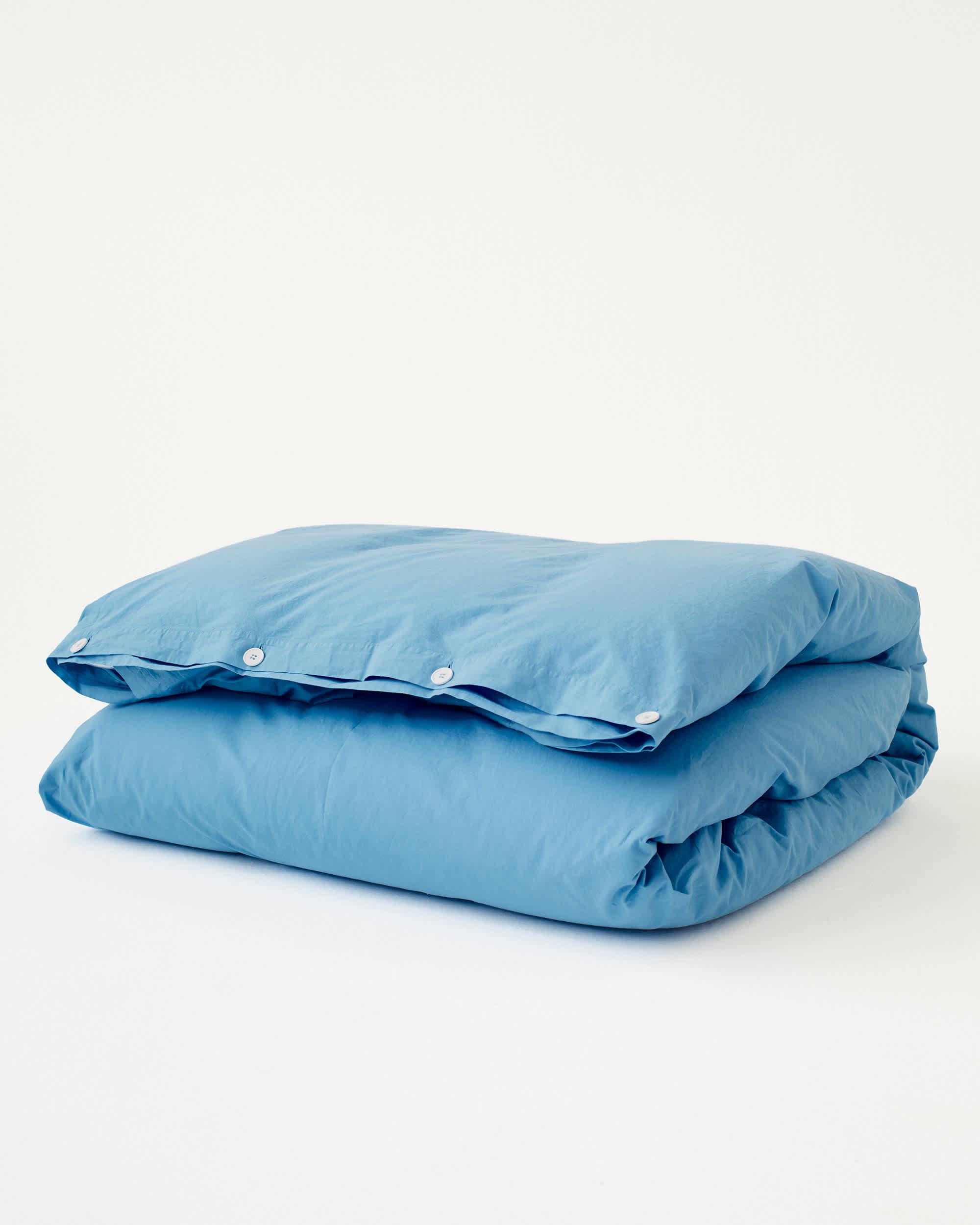 Tekla Organic Cotton Bedding - Dove Blue