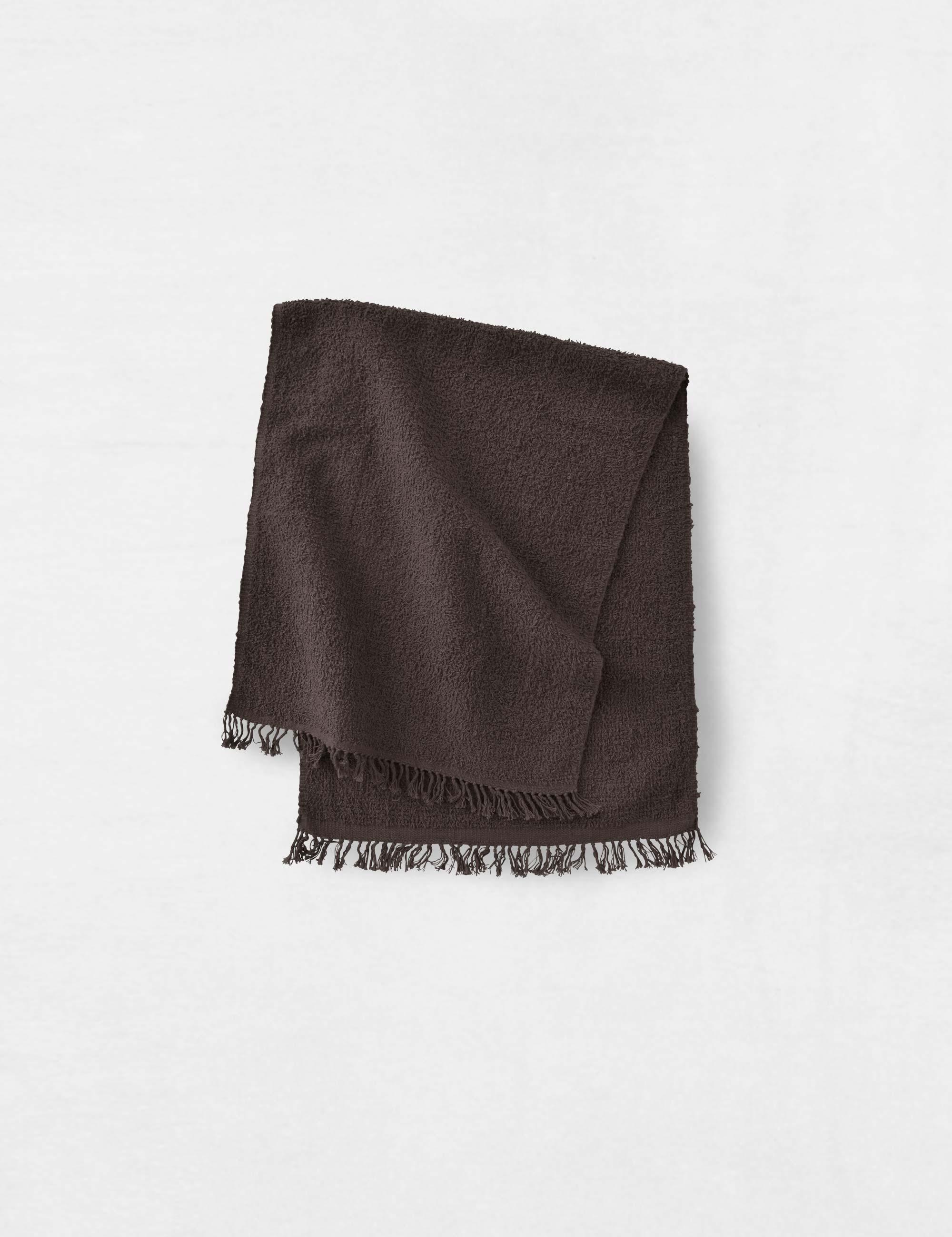 Jurgen Lehl Towel Pile -Brown