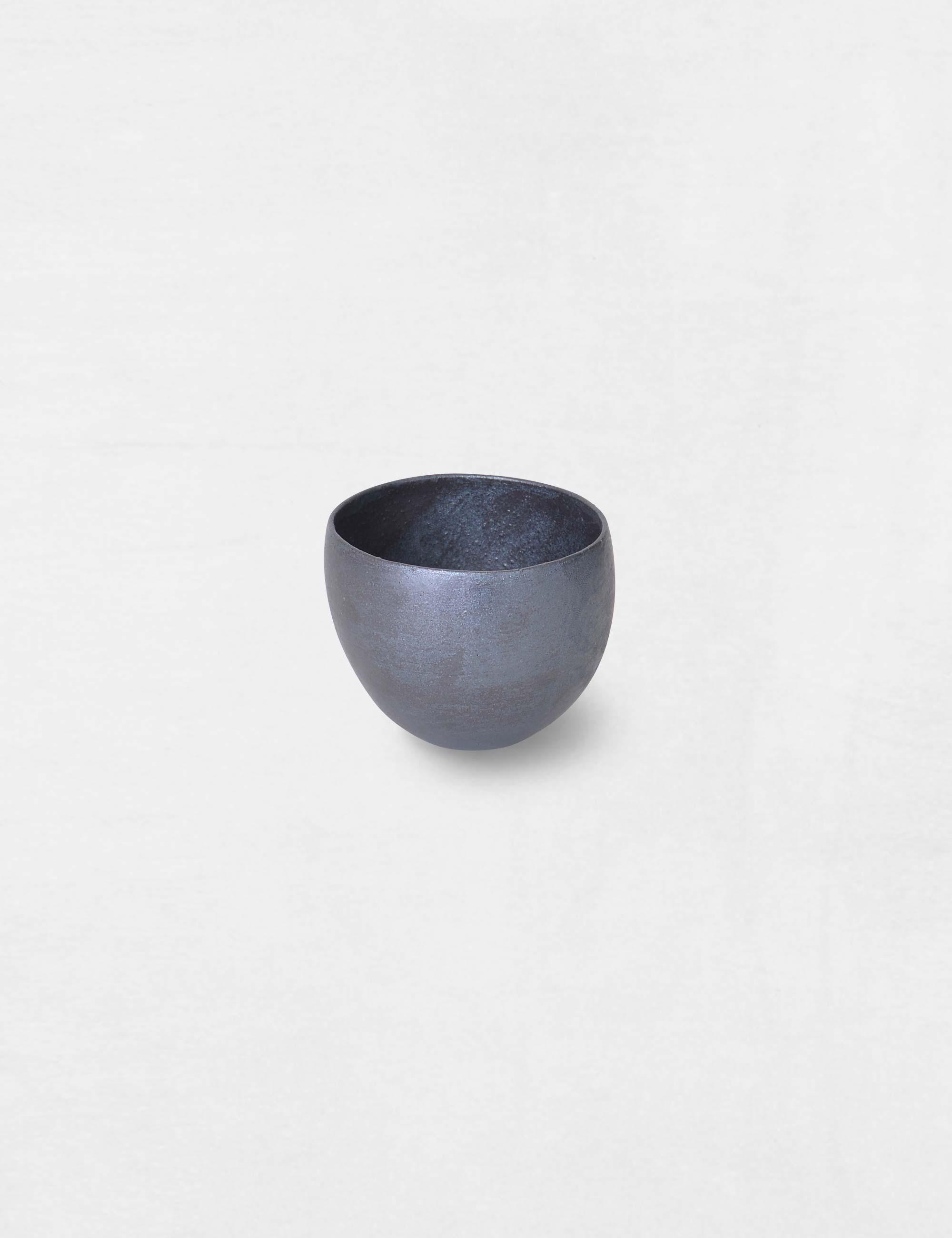 Jurgen Lehl Black Glaze Cup / Babaghuri