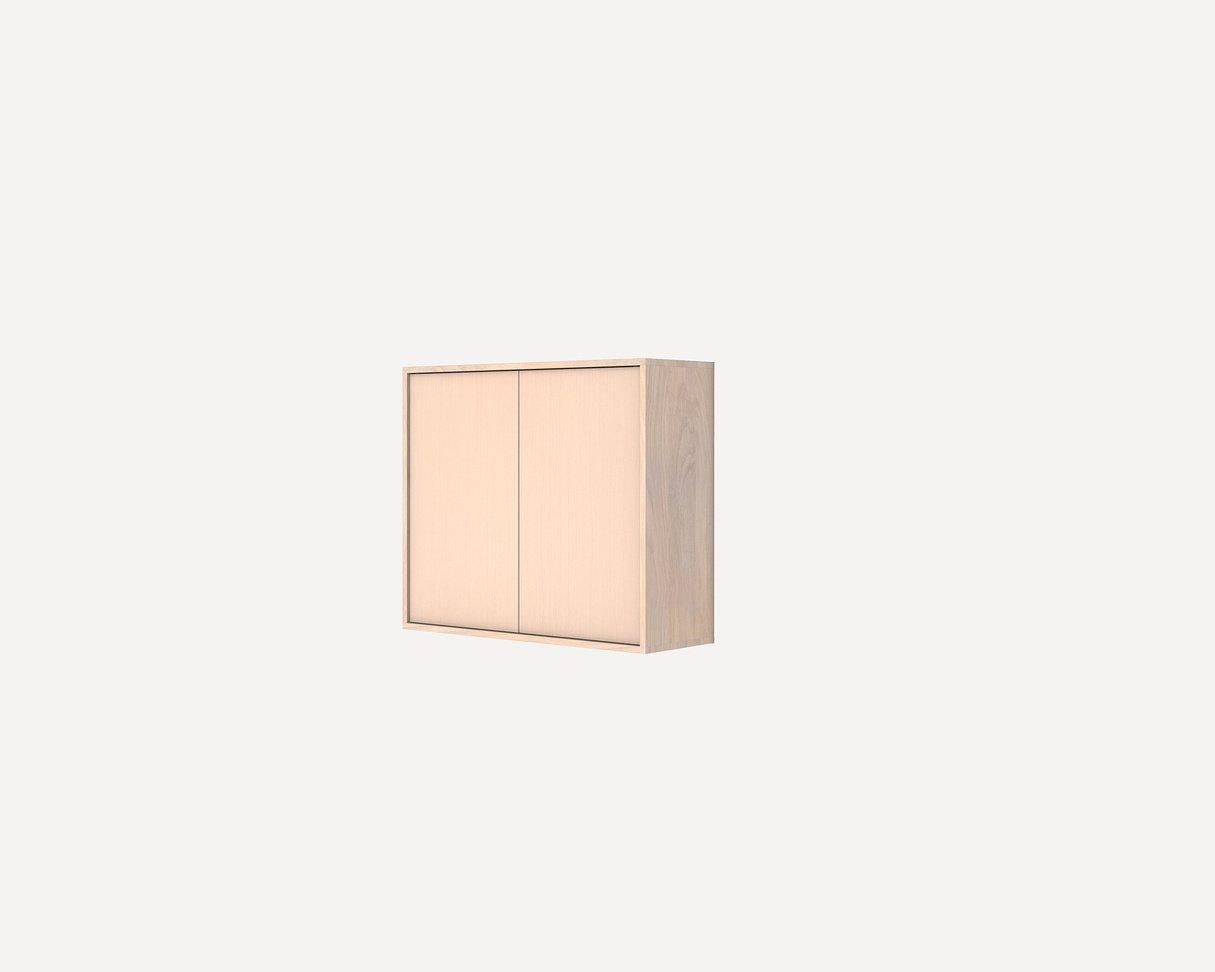 Frama Shelf Library White Oiled / medium cabinet