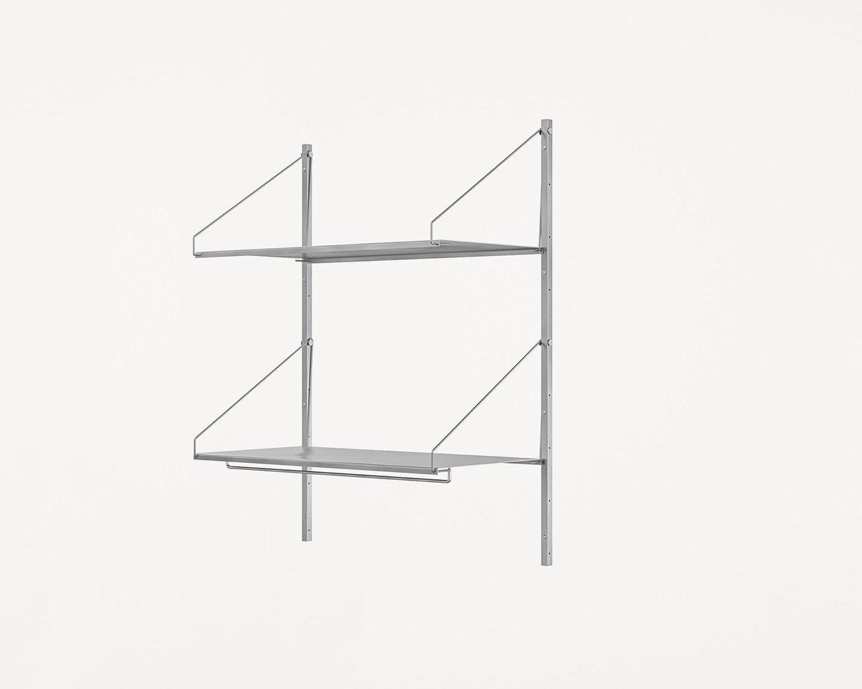 Frama Shelf Library Stainless Steel / H108,4 / Hanger Section