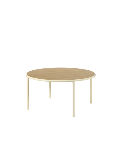 Valerie Objects wooden table round