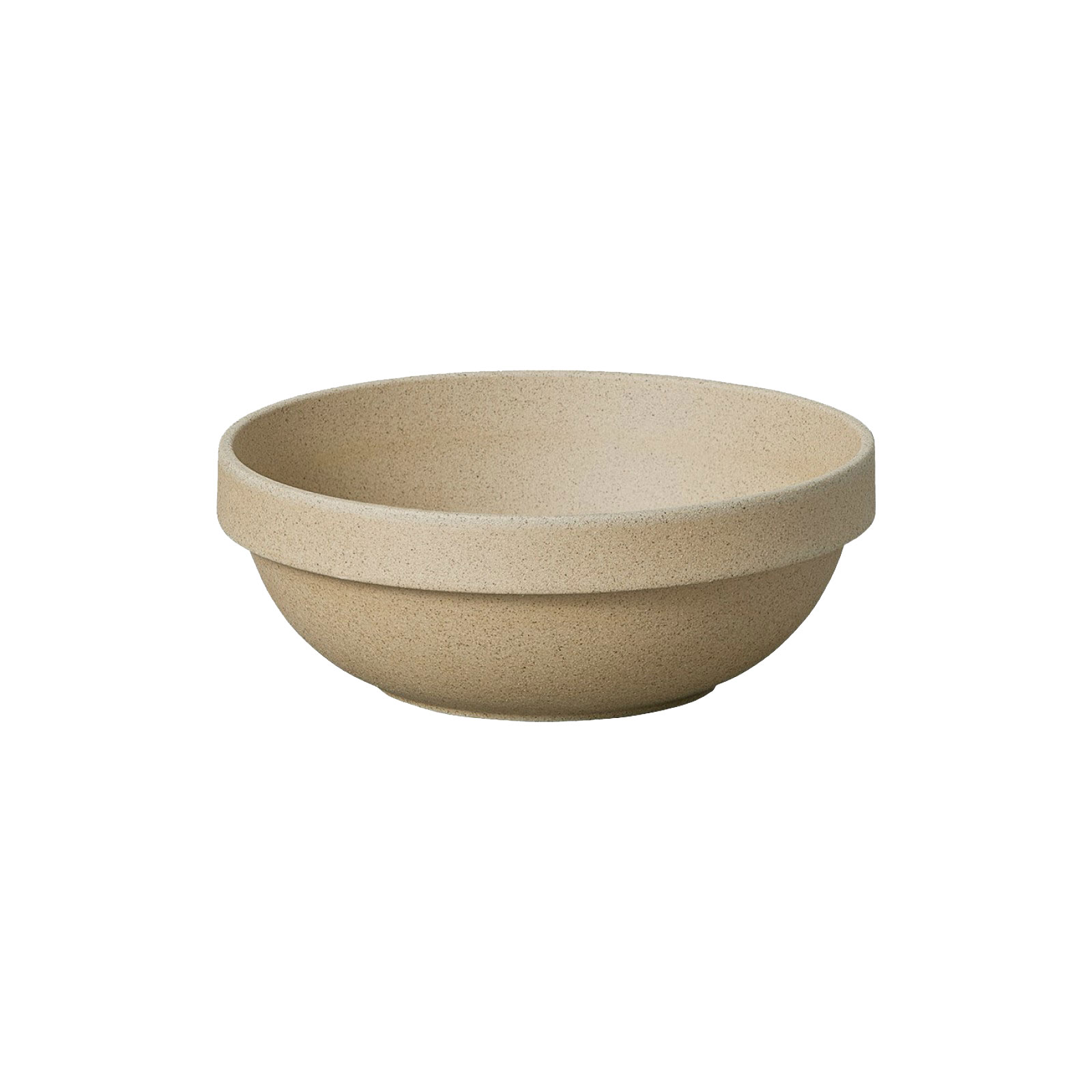 HP031 Hasami Round Bowl natural Ø 14,5 cm