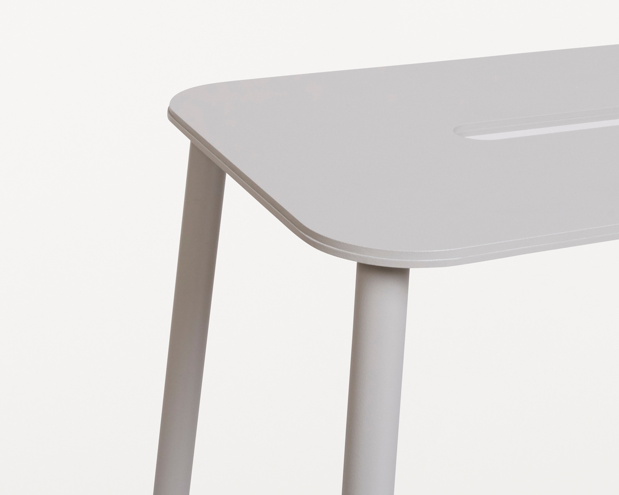 Frama Adam Stool Mono | Grey | H76