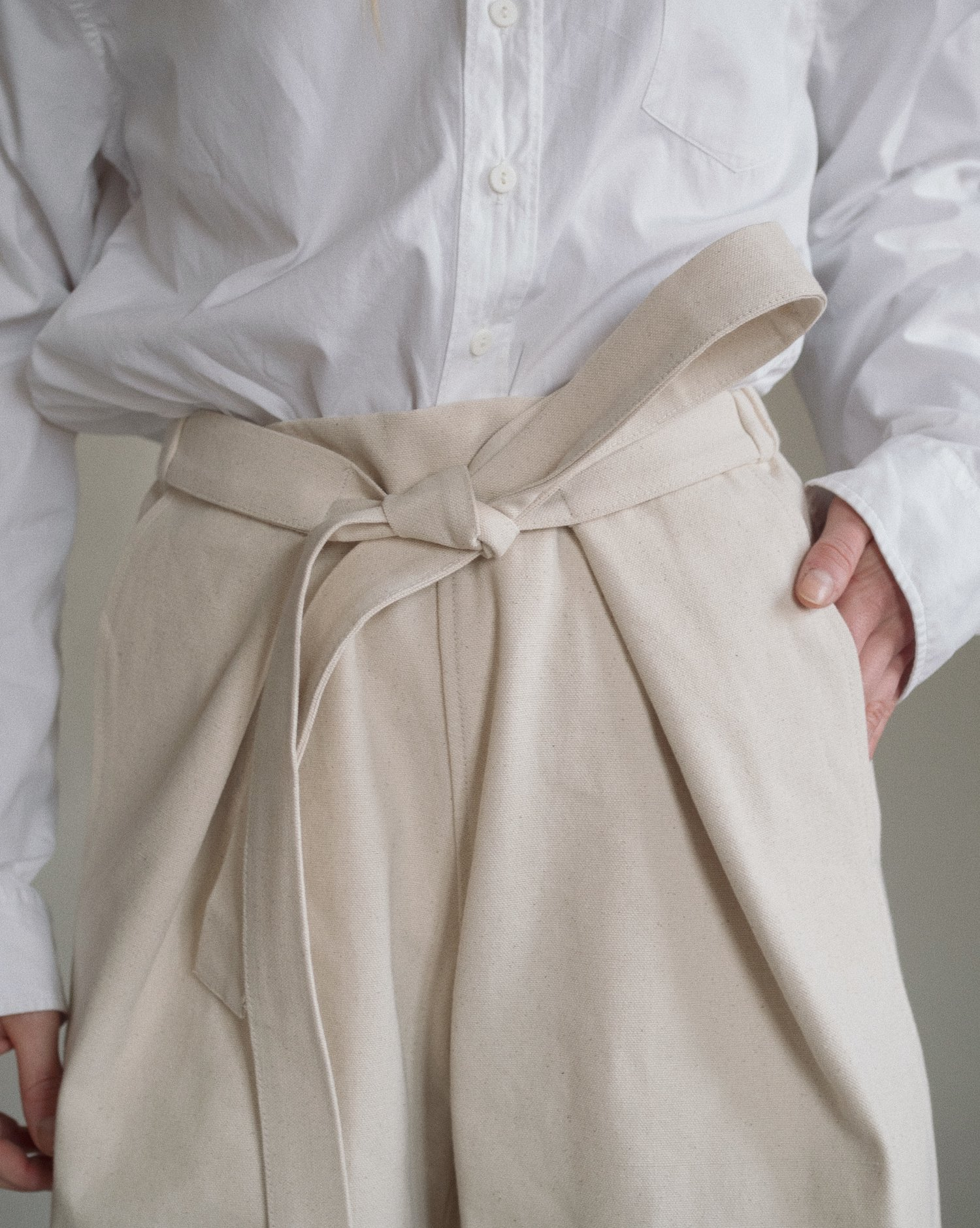 Aure Studio Atelier Trousers Cream