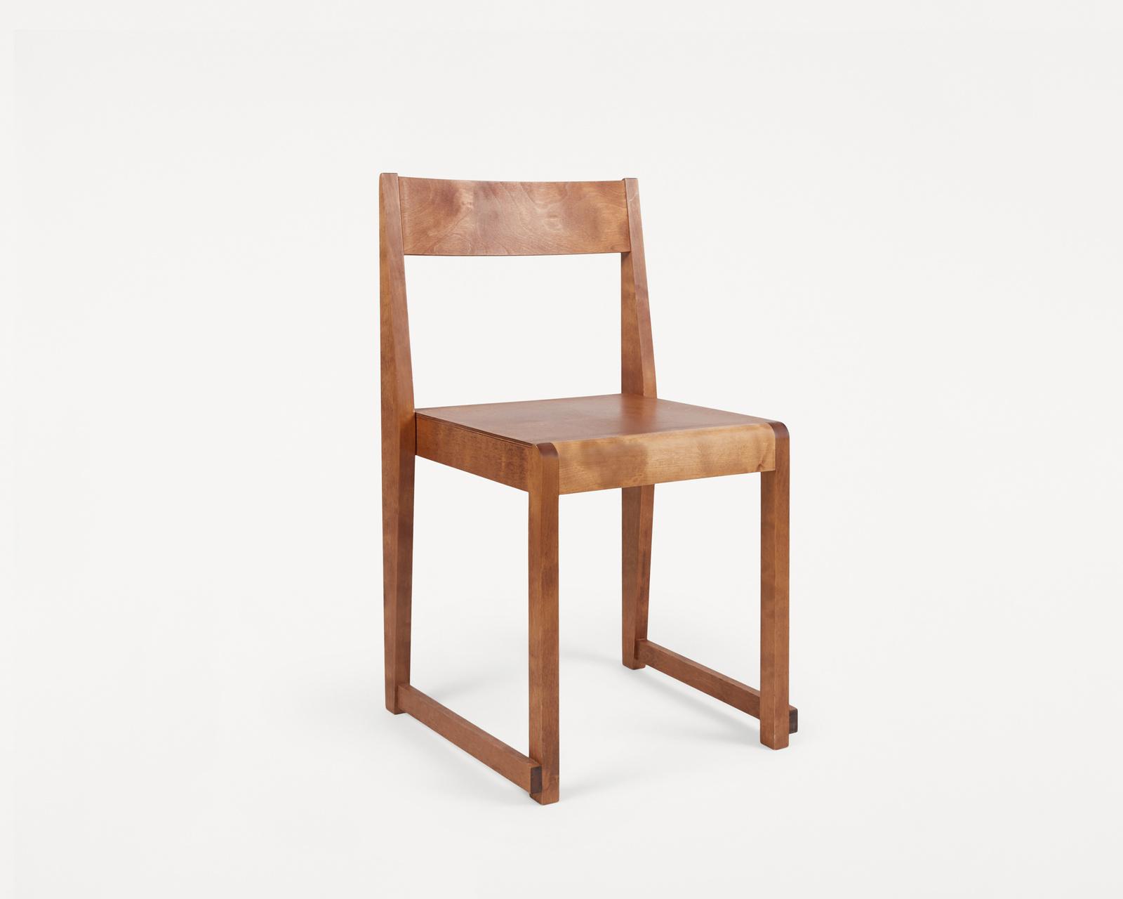 Frama Chair 01 Warm Brown Wood