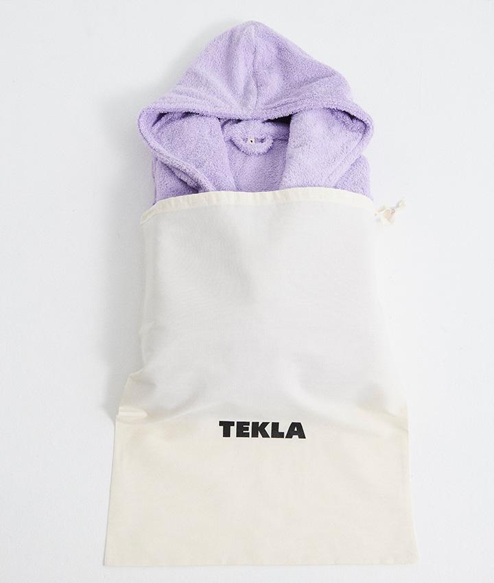 Tekla Hooded Bathrobe - Lavender