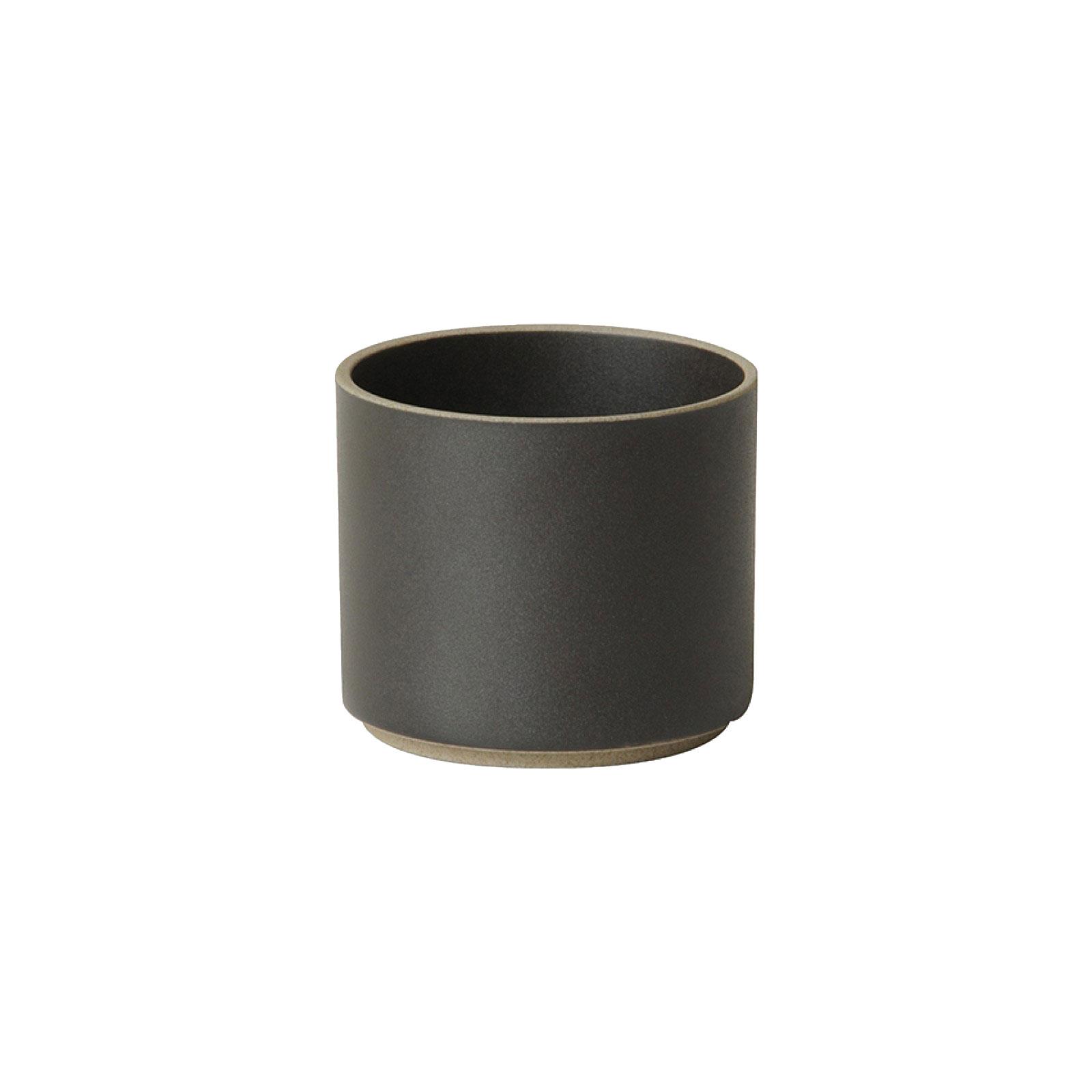 HPB013 Hasami Cup tall black Ø 8,5 cm