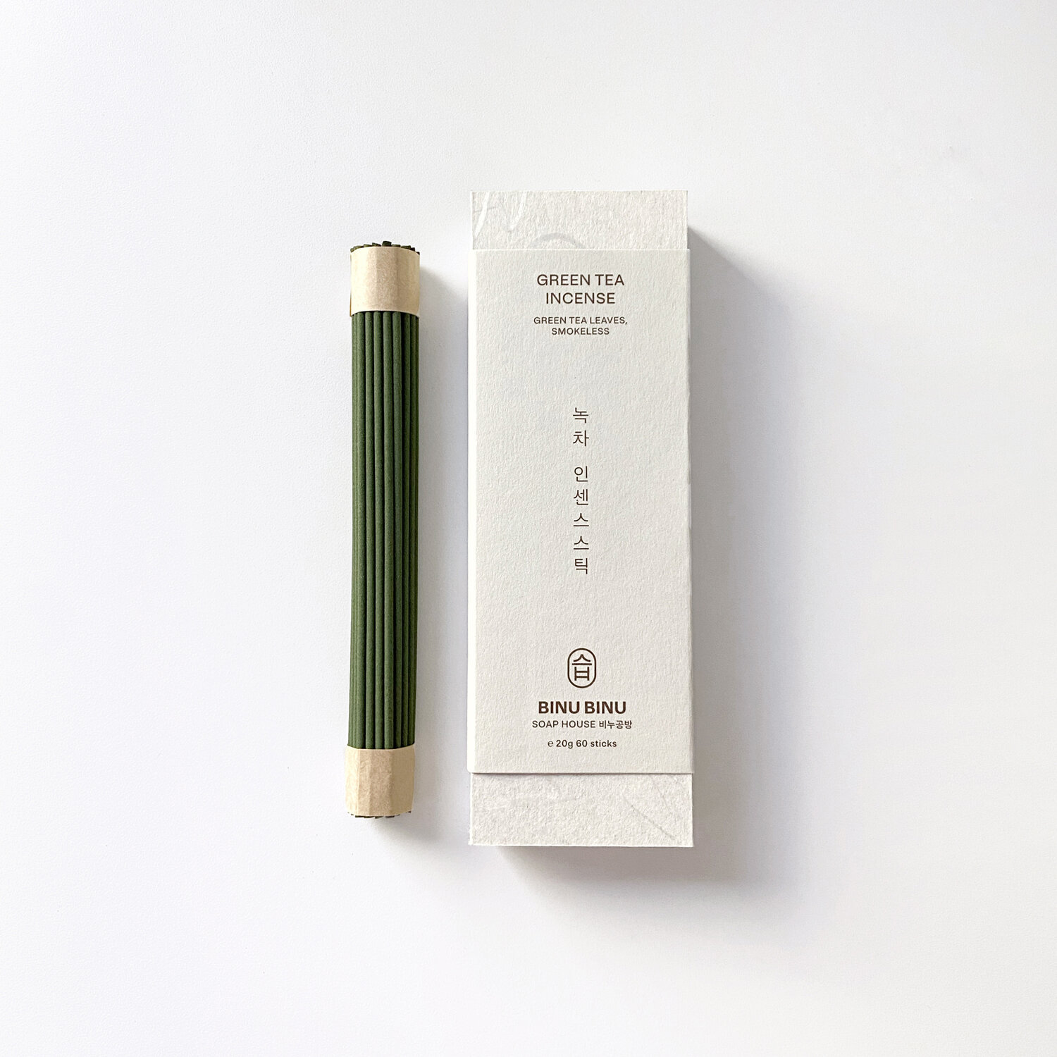 Binu Binu Green tea incense