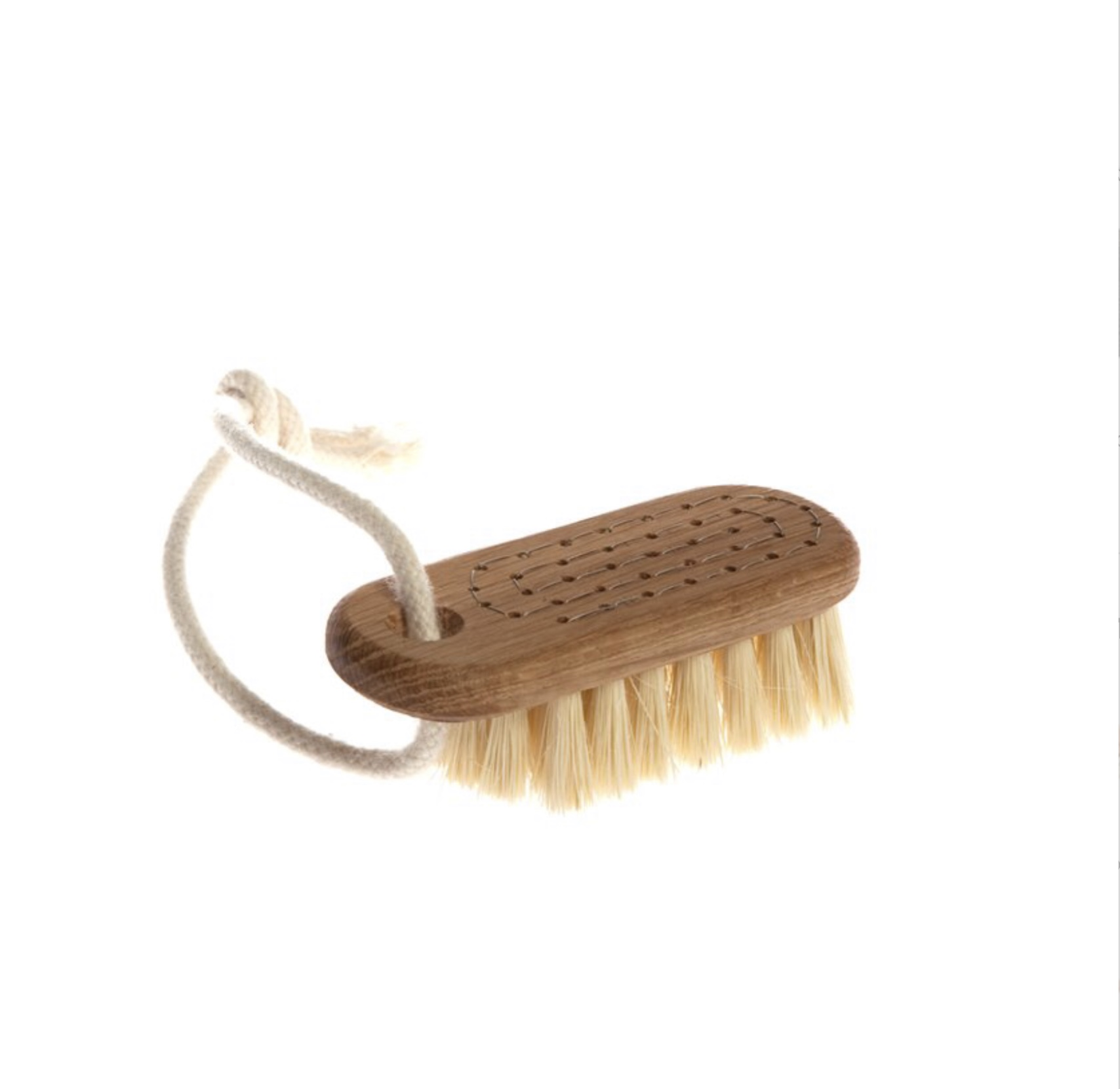 Iris Hantverk Nail Brush With String