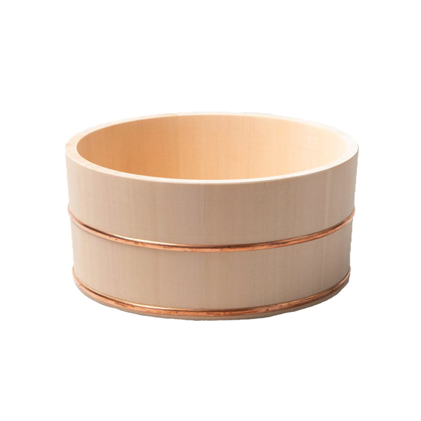 Hinoki Cypress Bath Bucket