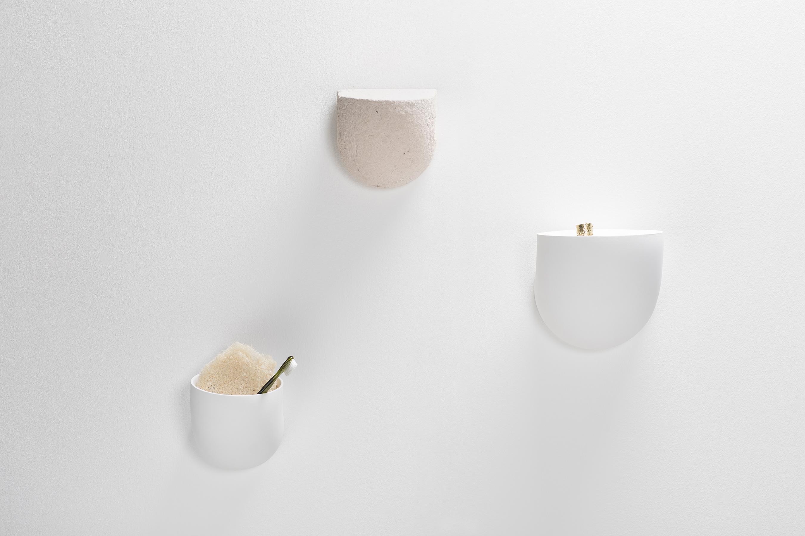 Valerie Objects Brick Shelf White