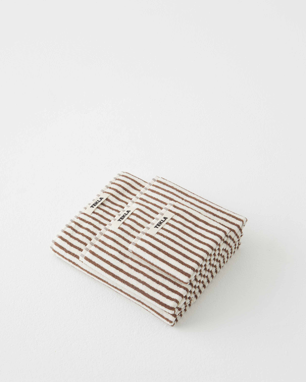 Tekla Organic Terry Towel - Kodiak Stripes