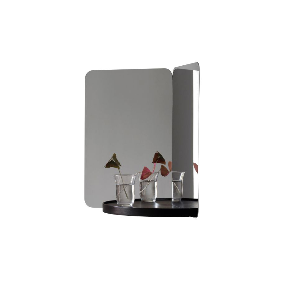 Artek 124° Mirror Medium With Shelf