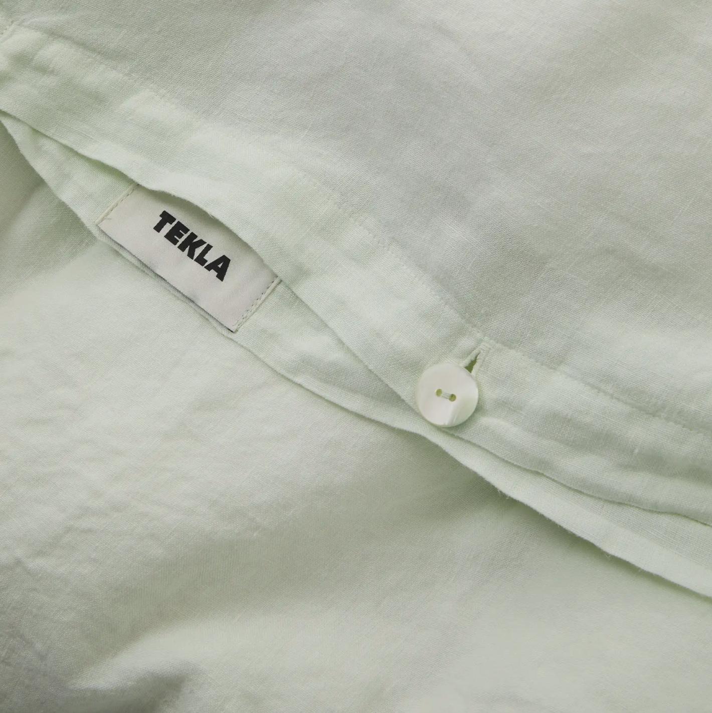 Tekla Linen Bedding - Pearled Ivory