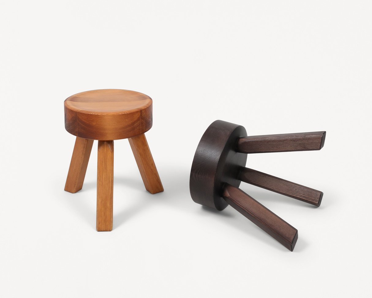 Frama AML stool   Pine