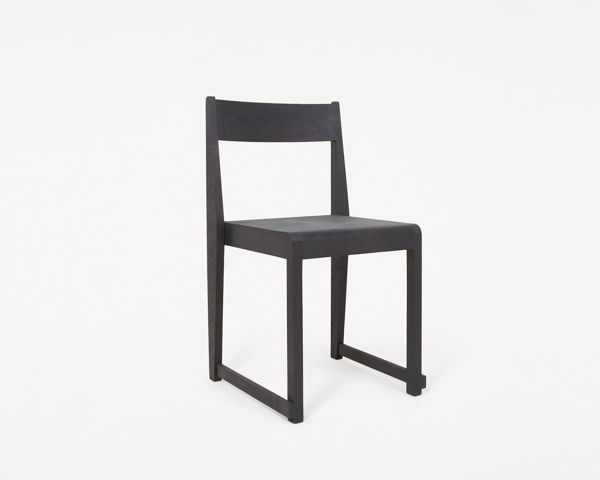 Frama Chair 01 Ash black / leather