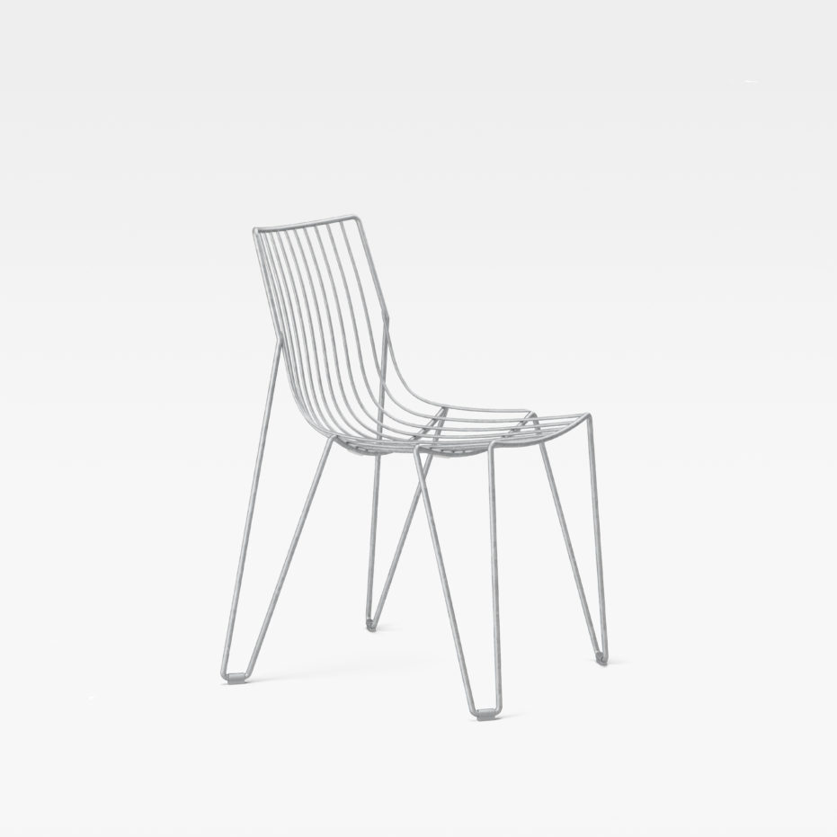 Massproductions Tio Chair Hot Dip Galvanised