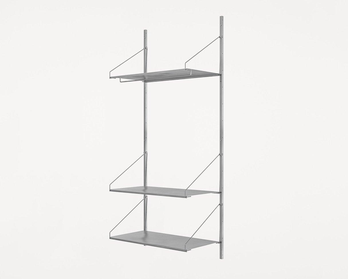 Frama Shelf Library Stainless Steel / H185,2 / Hanger Section
