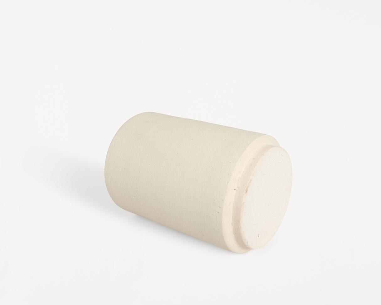 Frama Cylinder Vase / Cream Sand / Large
