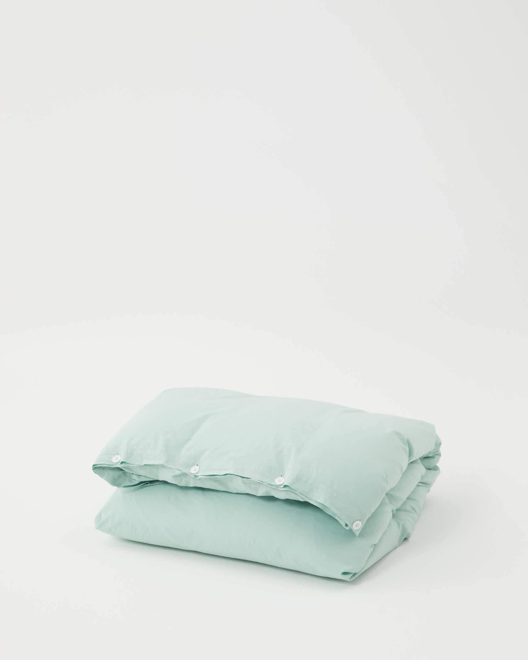 Tekla Organic Cotton Bedding - Subtle Mint