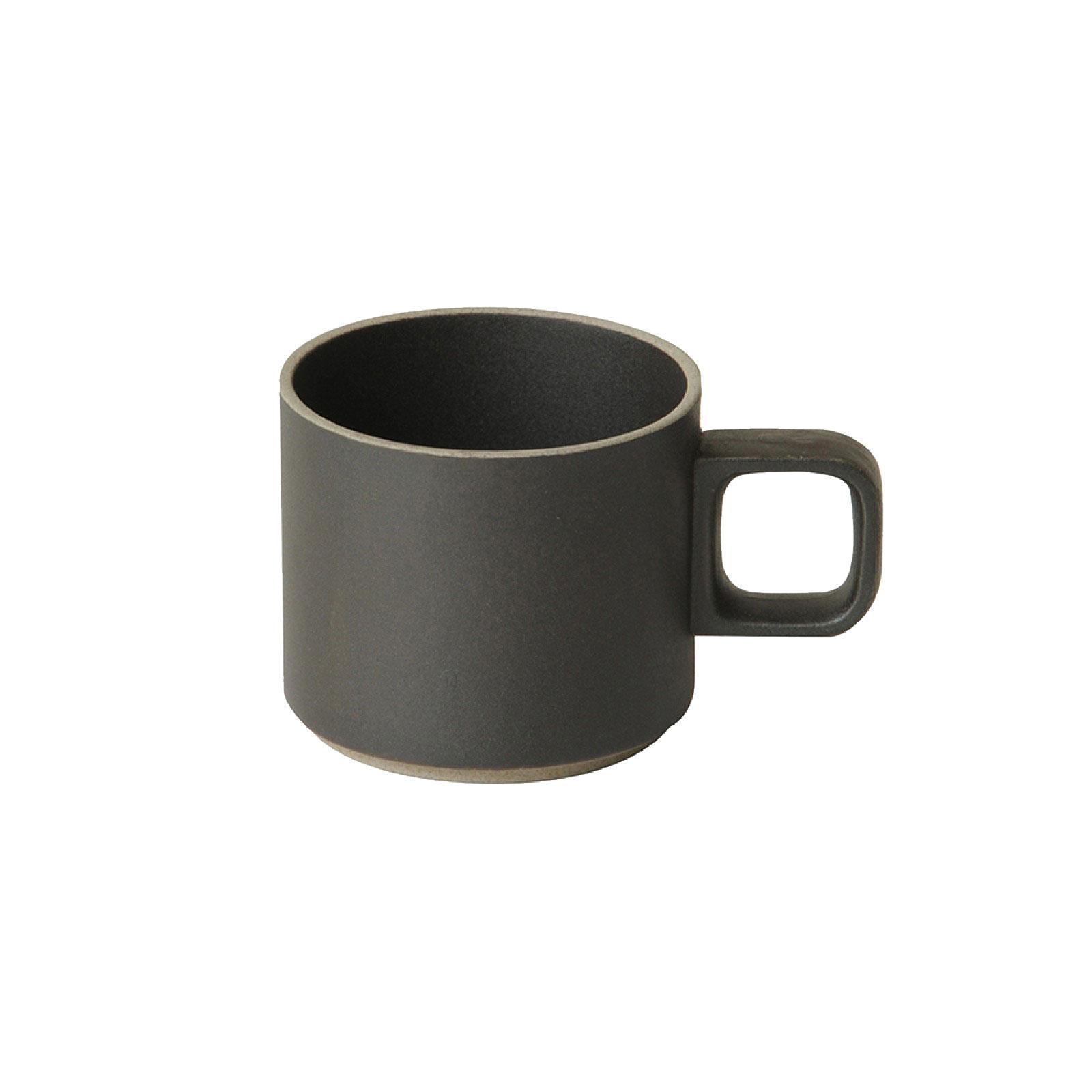HPB019 Hasami Mug Cup low black