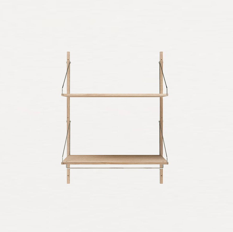 Frama Shelf Library White Oak H1148 | Hanger Section