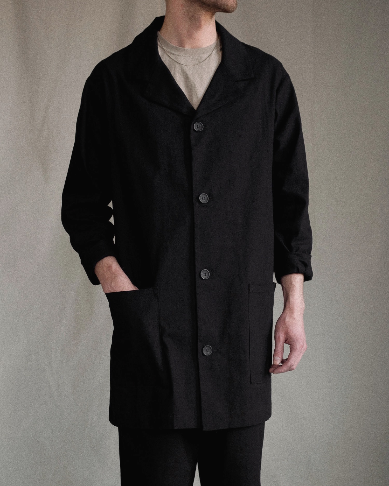 Aure Studio Painter´s Jacket Black