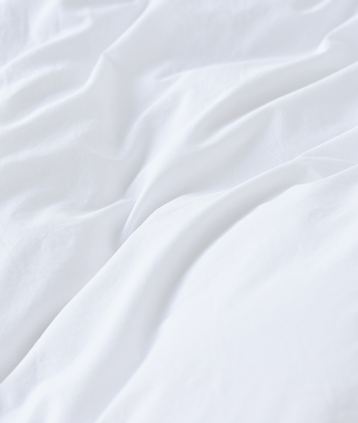 Tekla Organic Cotton Bedlinen - Broken White