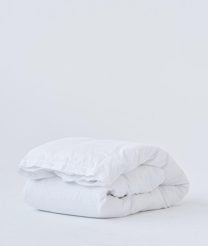 Tekla Organic Cotton Bedlinen - Broken White