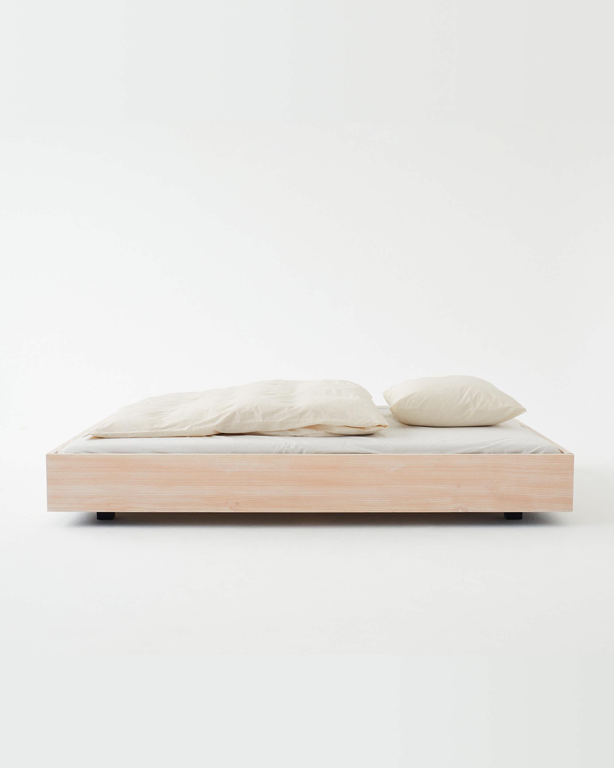 Tekla Organic Cotton Bedding - Winter White