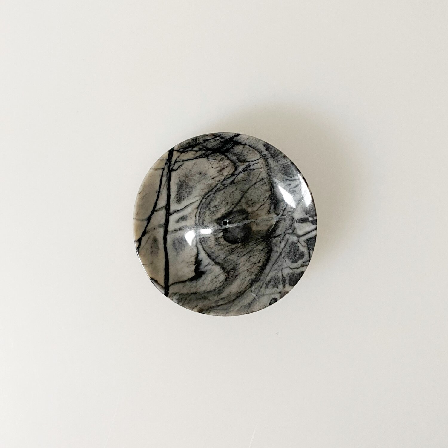 Binu Binu Lunar marble Incense holder