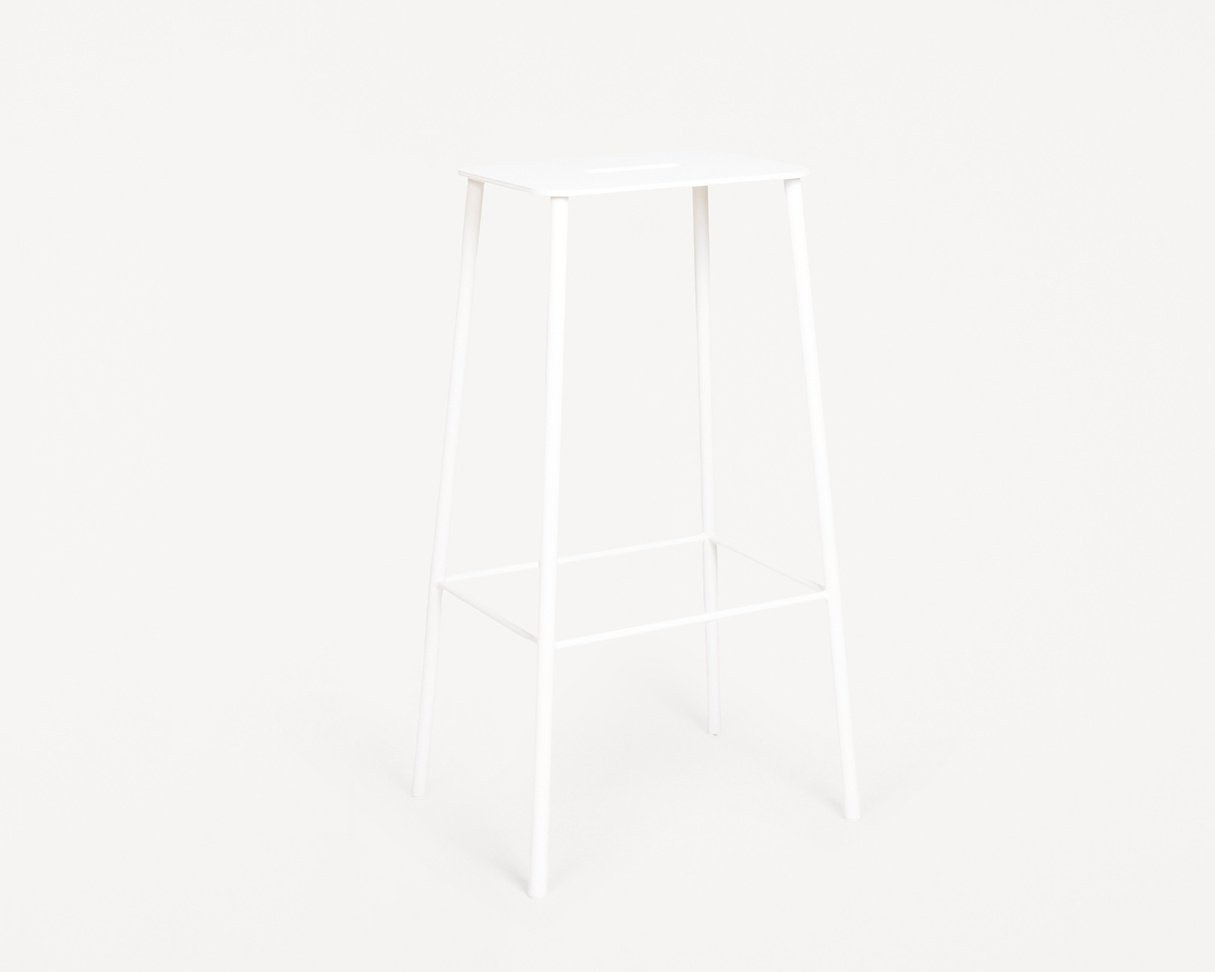 Frama Adam Stool Mono | White | H76