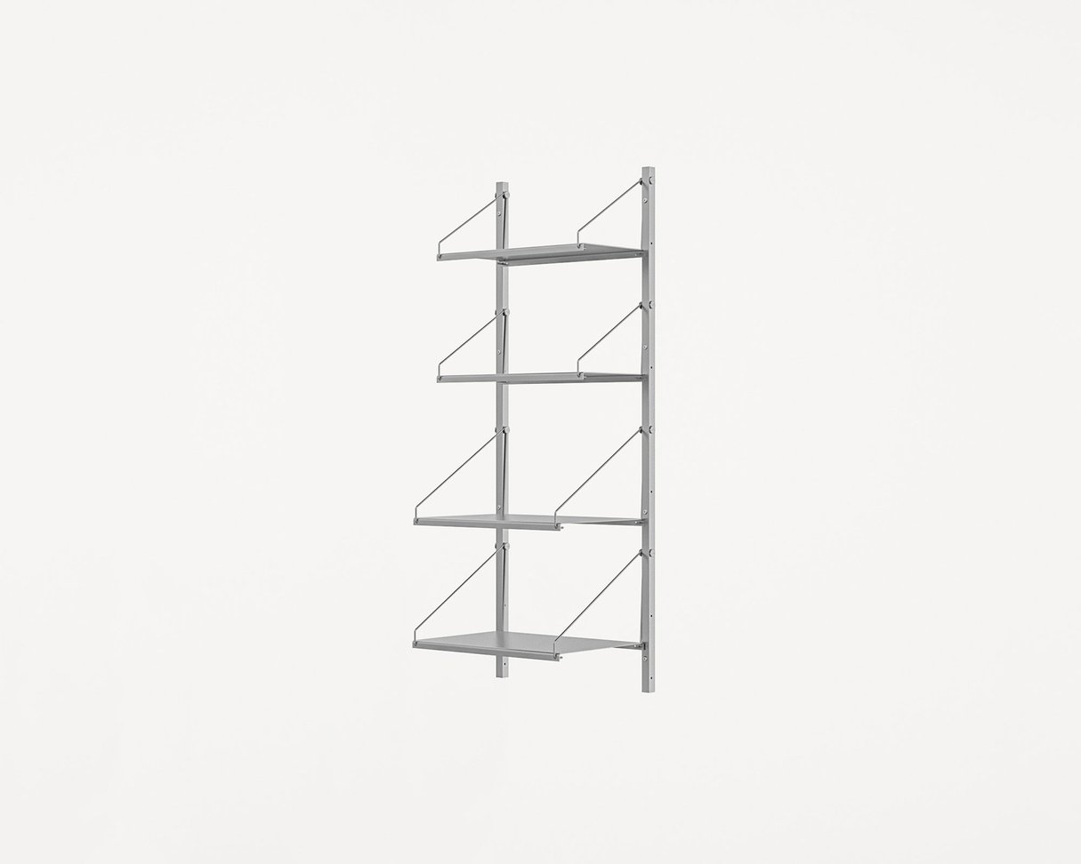 Frama Shelf Library Stainless Steel / H108,4 / W40 Section