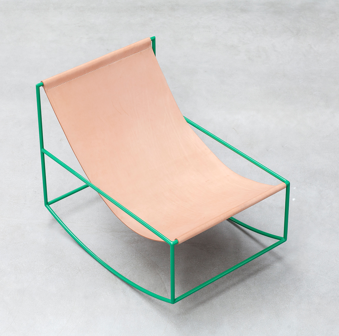 Valerie Objects Rocking chair Leather