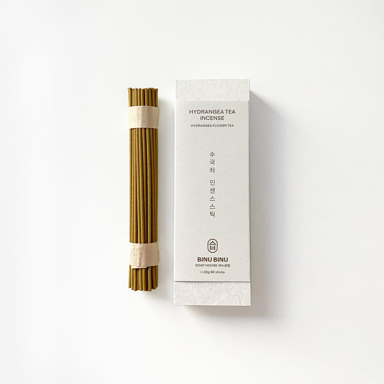 Binu Binu Hydrangea tea incense