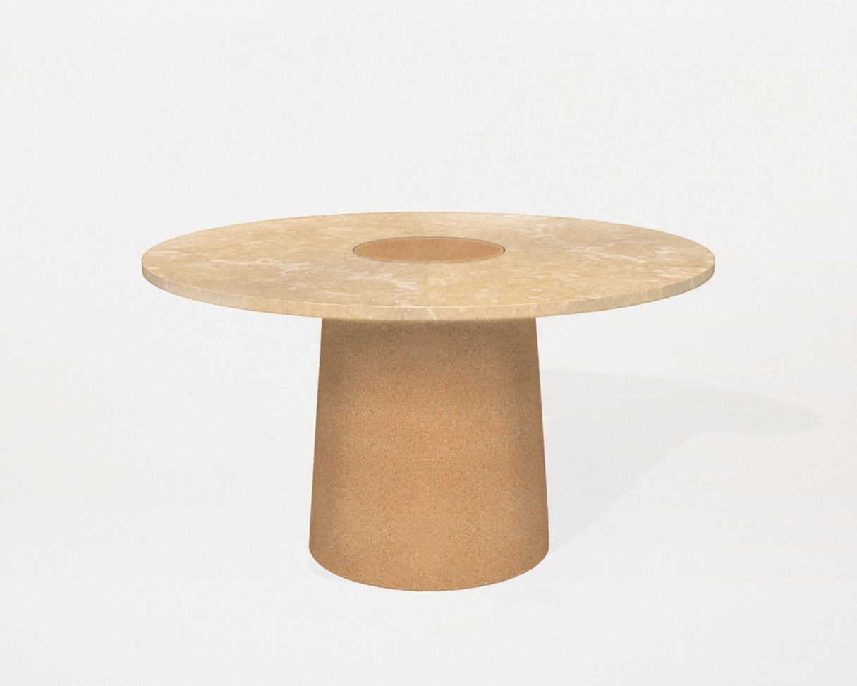 Frama Sintra Dining Table | Yellow Limestone