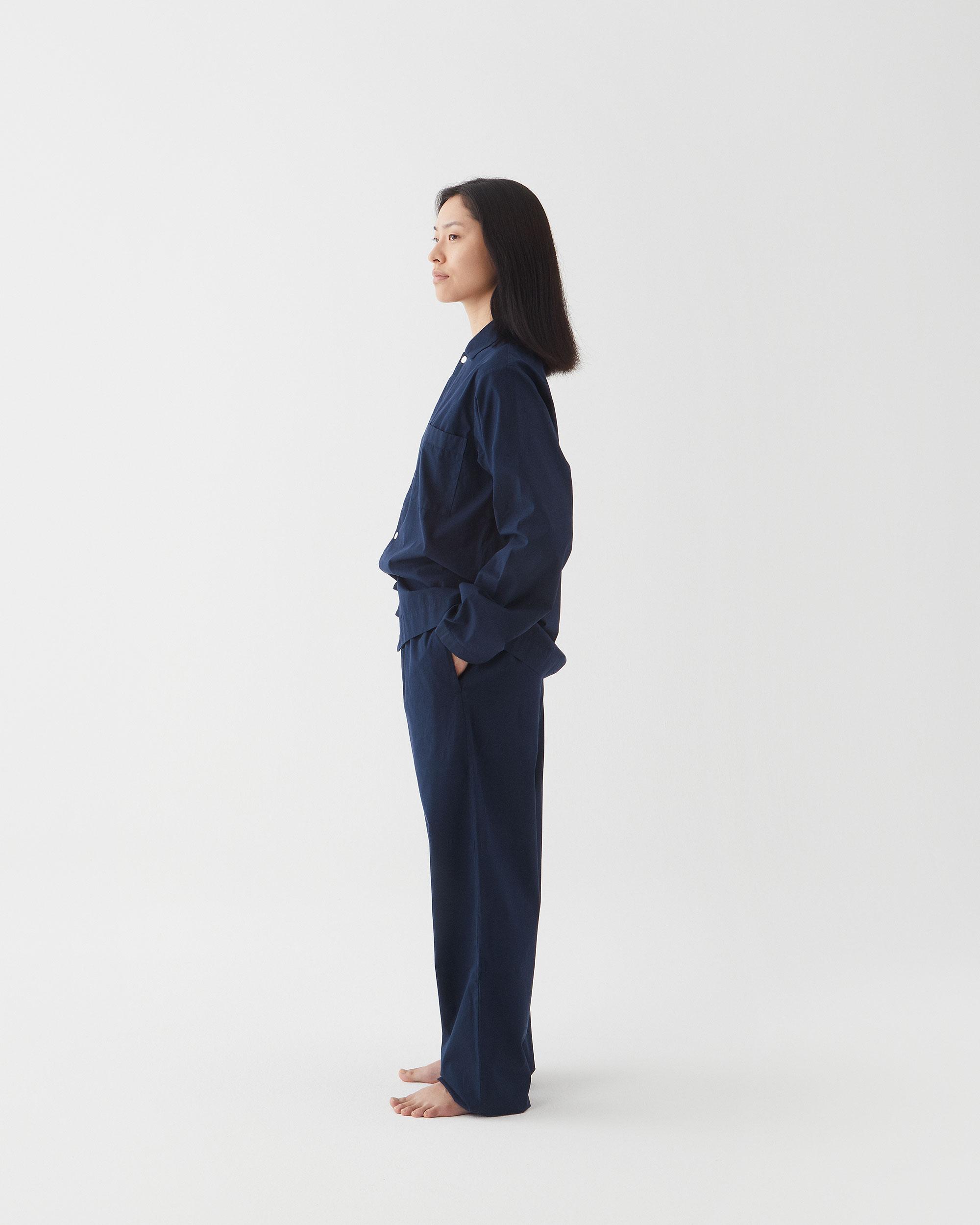 Tekla Sleepwear True Navy