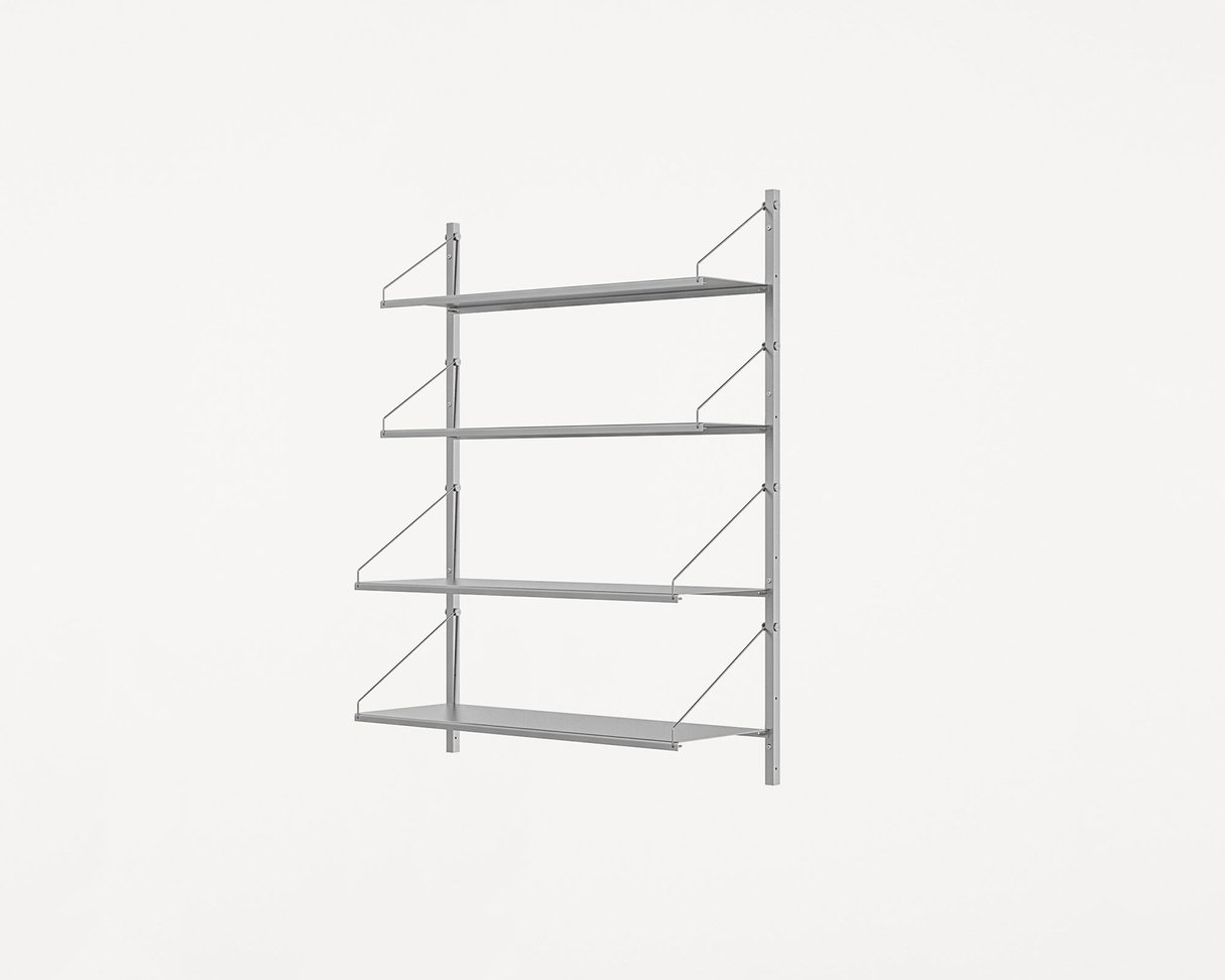 Frama Shelf Library Stainless Steel / H108,4 / W80 Section