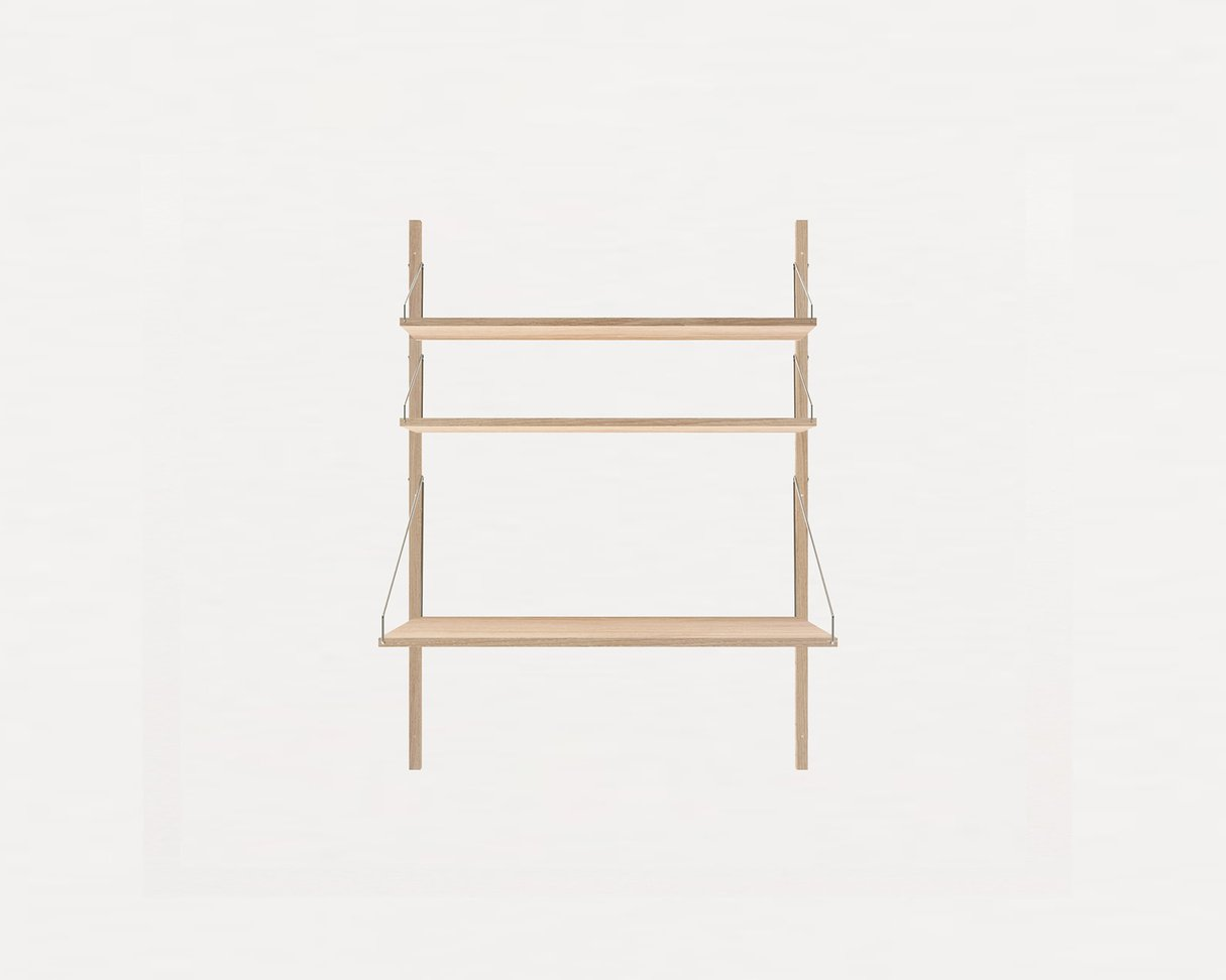 Frama Shelf Library White Oak H1148 / Desk section