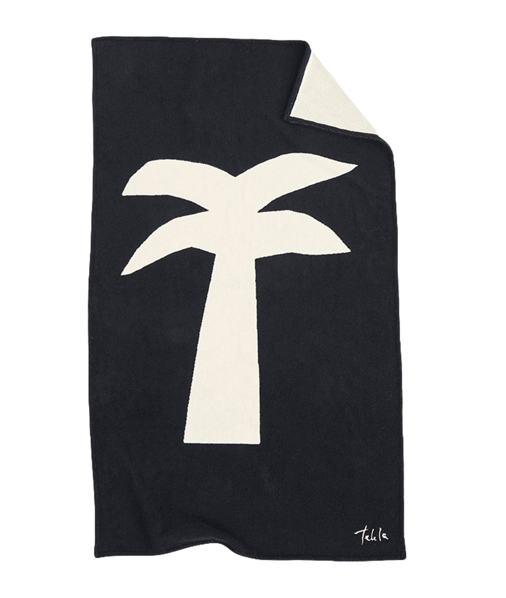 Tekla Organic Beach Towel Palm
