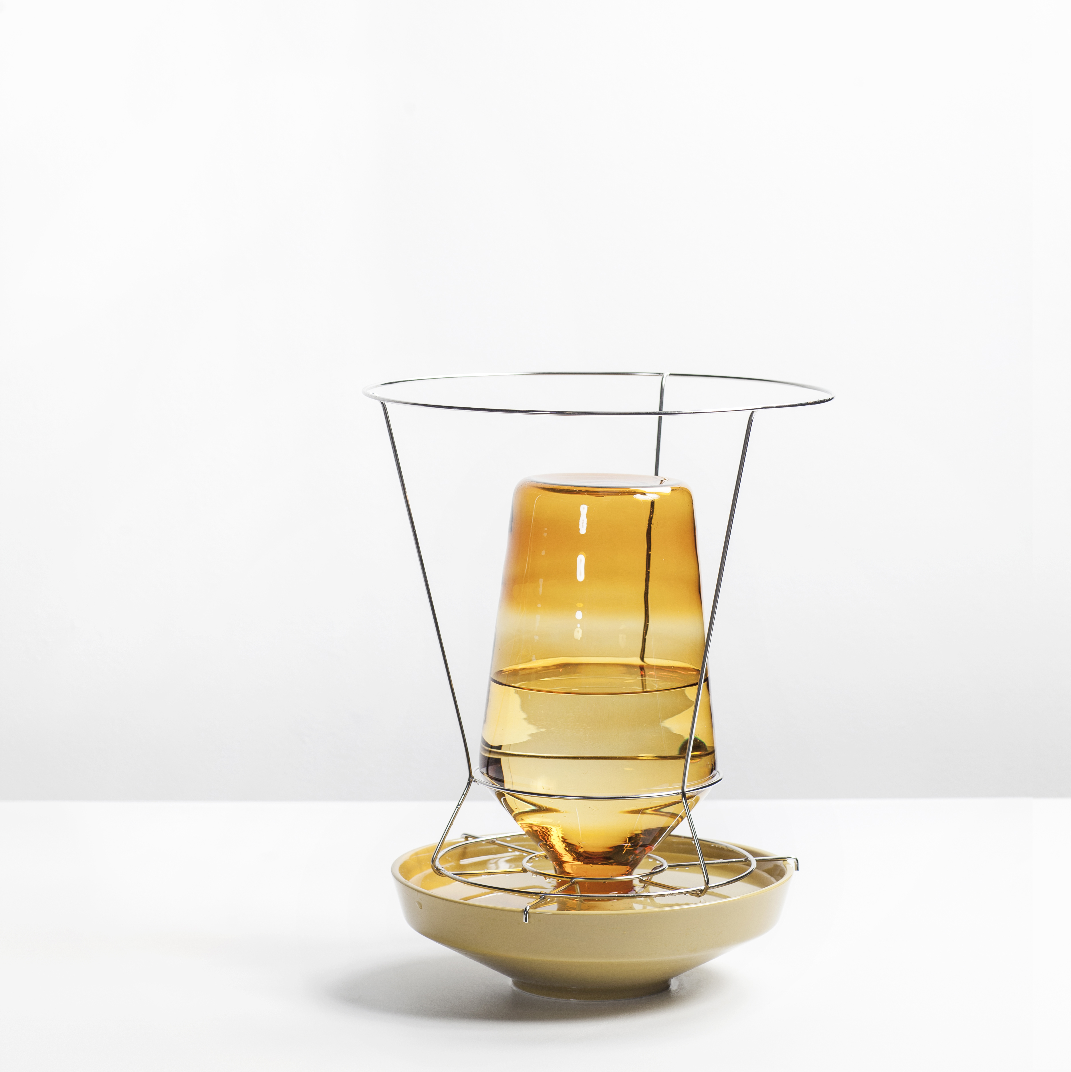 Valerie Objects Hidden vases (Large) Amber