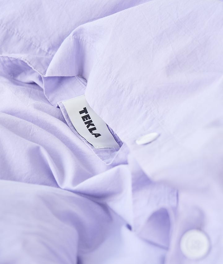 Tekla Organic Cotton Bedlinen - Lavender