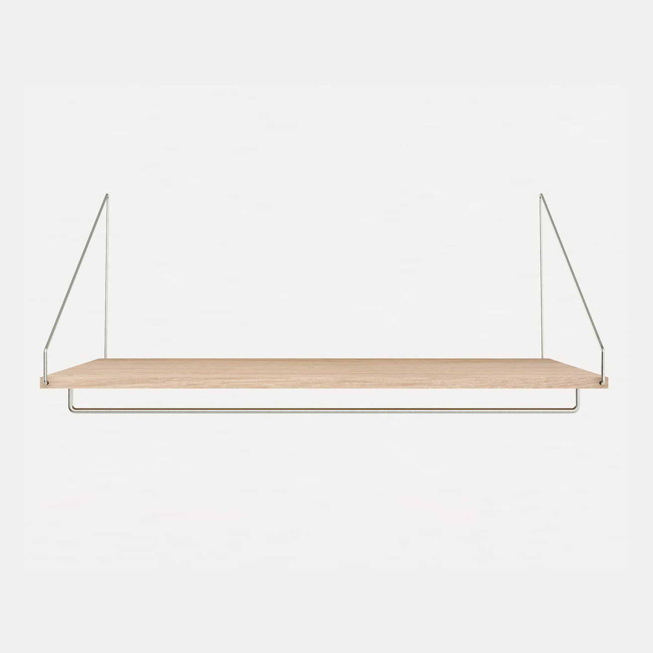 D40 W80 Hanger | Shelf Library White