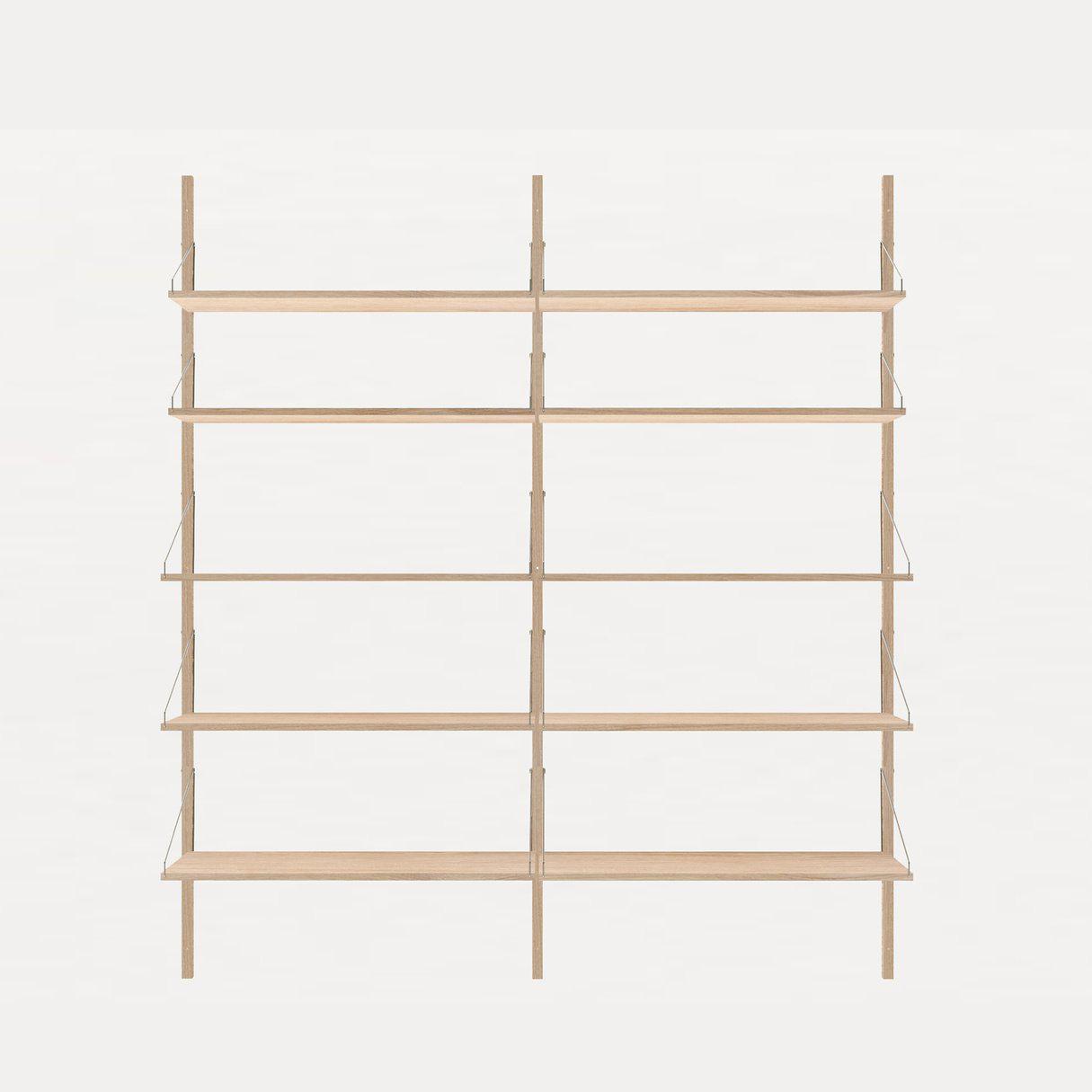 Frama Shelf Library White Oak H1852 / Double section