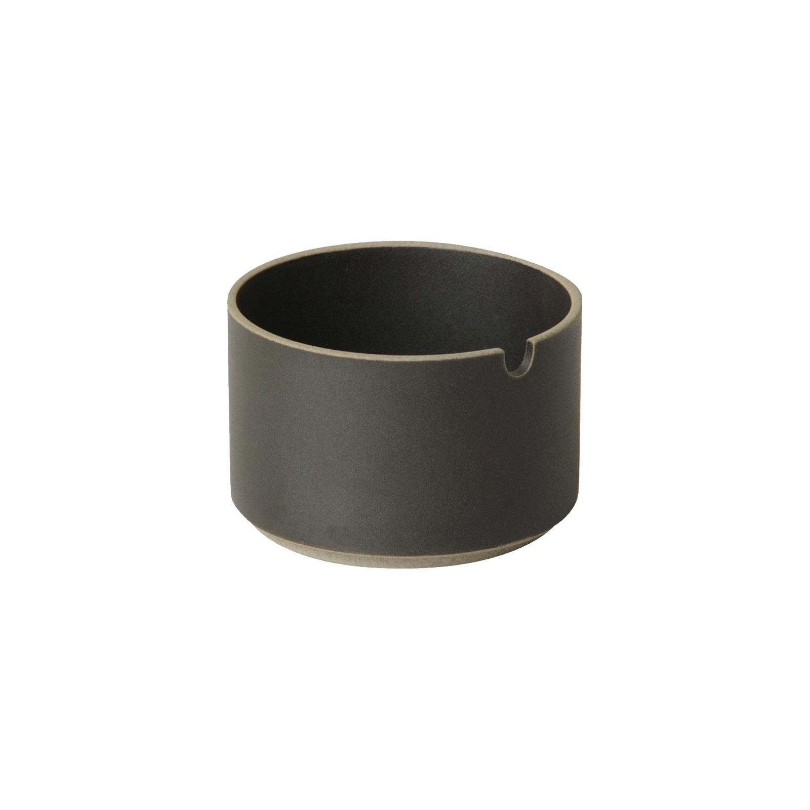 HPB017 Hasami Sugar Pot black