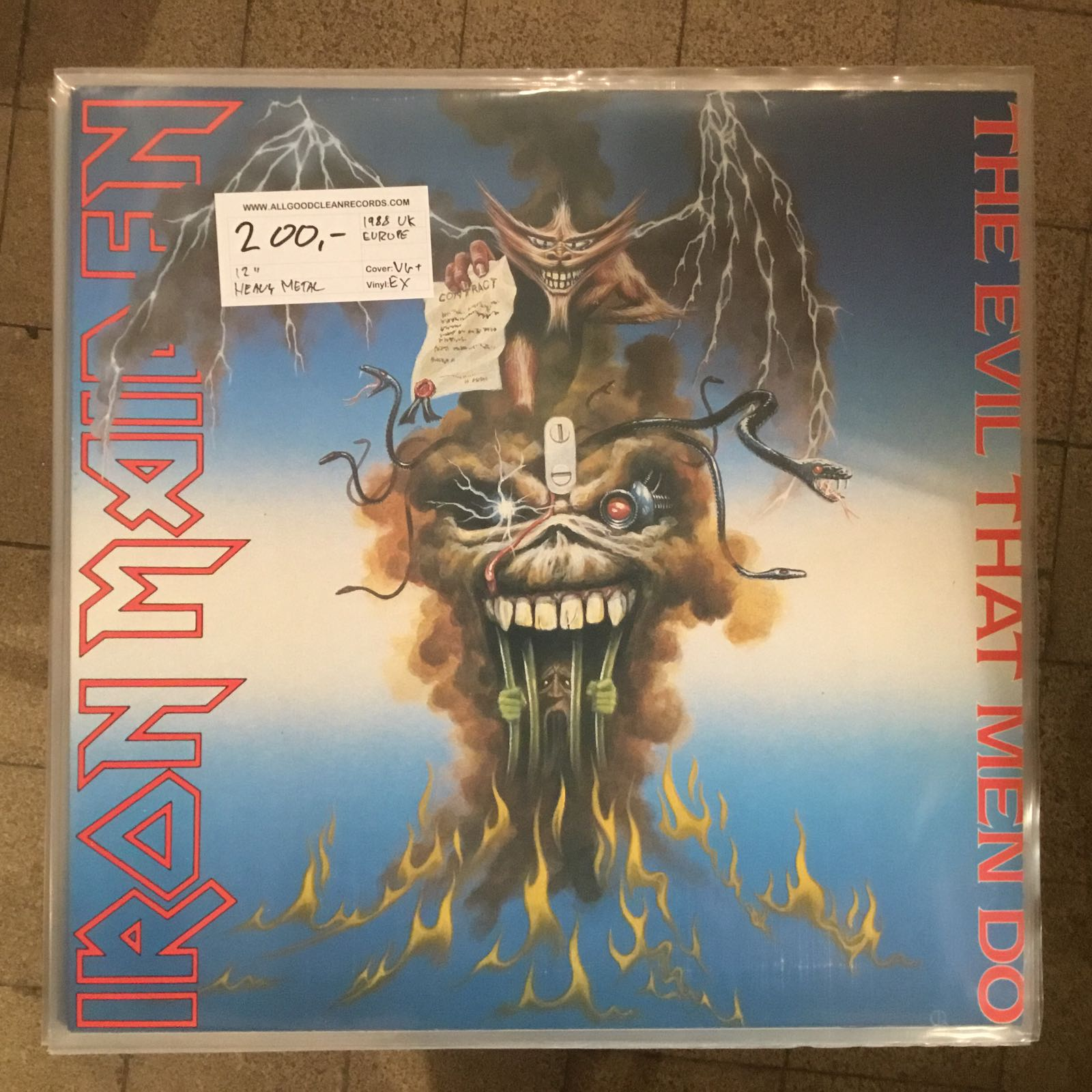 "Iron Maiden – The Evil That Men Do [12"" Maxi] (2. hand)"