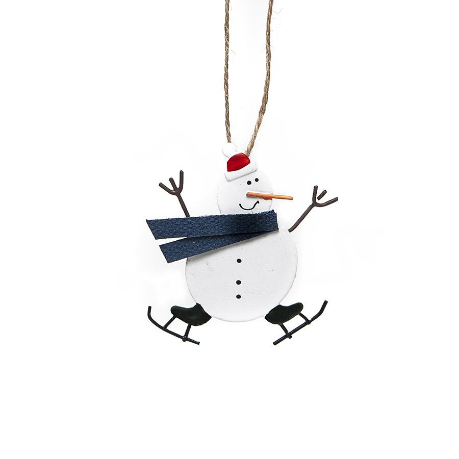 Mini skating snowman