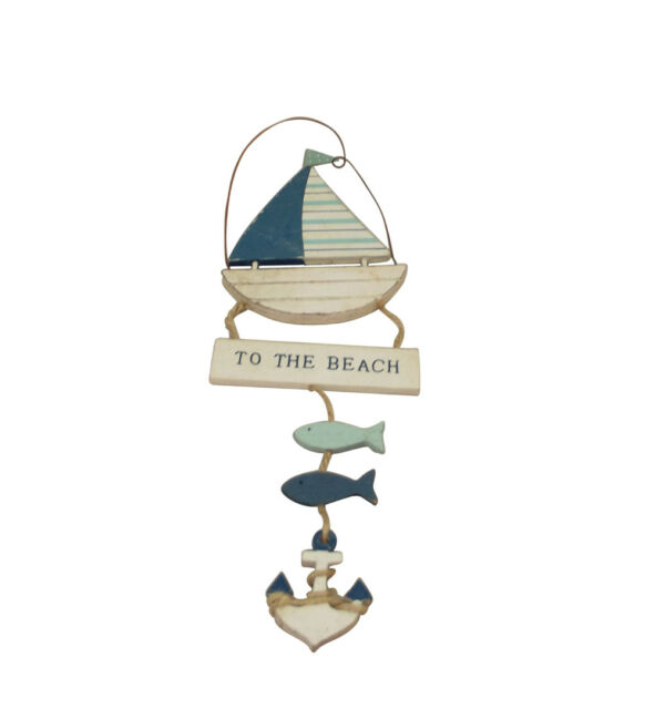 To The Beach hanging sign
