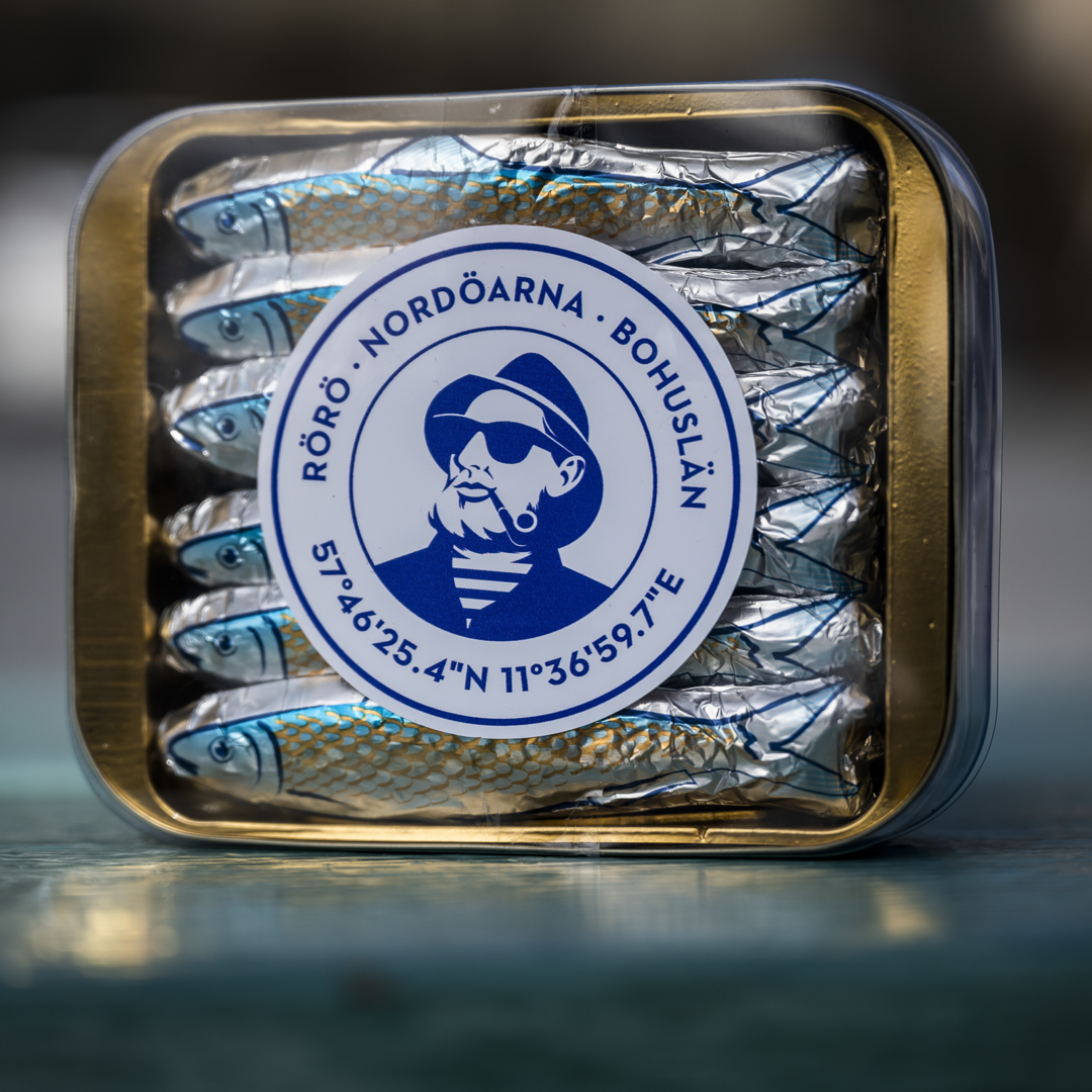 Chokladsillar i låda